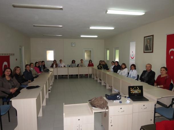 Sağlık çalışanlarına organ bağışı semineri