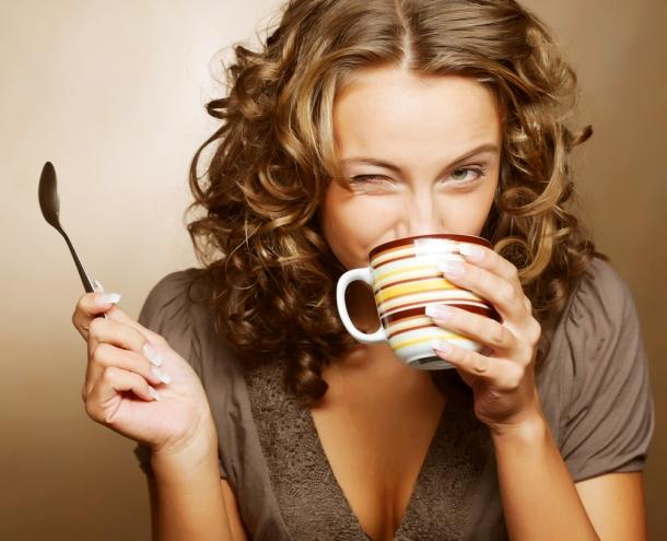 Kahve için mutlu hissedin