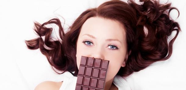 Çikolata yiyerek mutlu olun!
