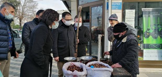 """ESNAFI ÇIKMAZDAN CHP ÇIKARIR"""