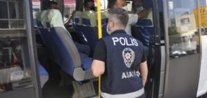 POLİSTEN MASKE VE KORONA SEFERBERLİĞİ