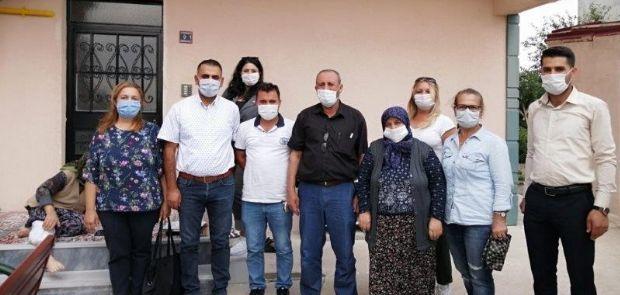 CHP ERGENE KADIN KOLLARINDAN ŞEHİT AİLELERİNE ZİYARET